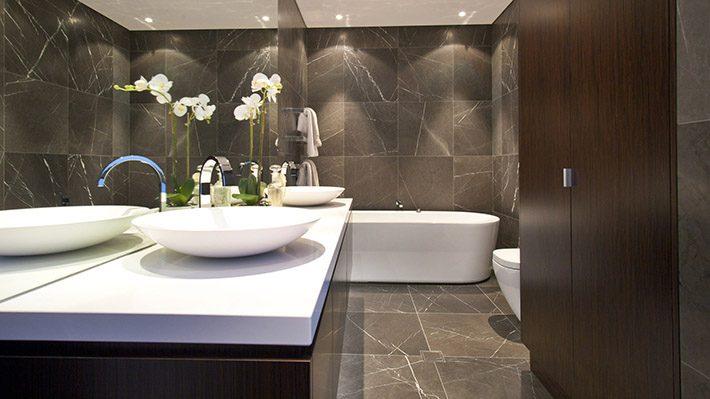 bathroom surface
