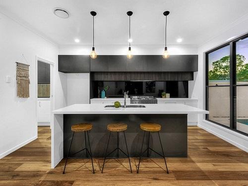 Kitchen benchtop in Smartstone Arcadia
