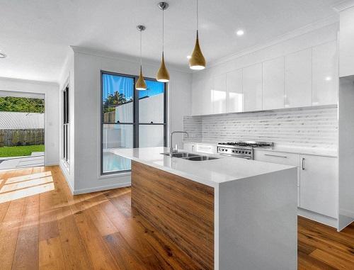 kitchen countertop in Smartstone Arcadia