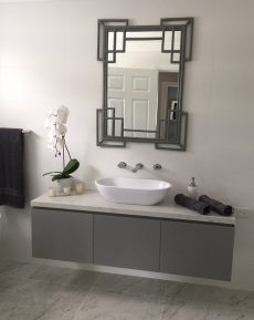 bathroom vanity in Smartstone Athena