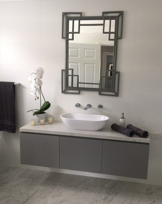 bathroom vanity in Smartstone Athena