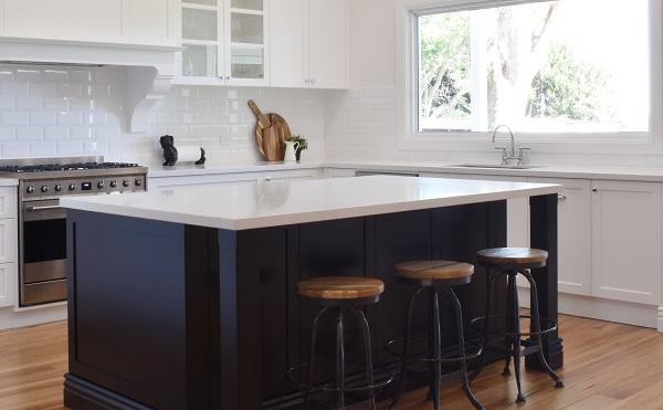 kitchen benchtop with Smartstone Amara