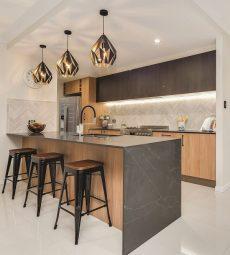 kitchen benchtop in Smartstone Petra Grigio