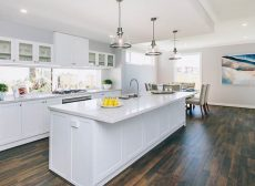 kitchen benchtop in Smartstone Athena