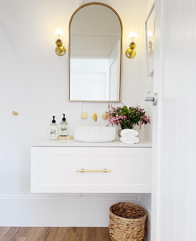 bathroom vanity Smartstone Bianco Onix